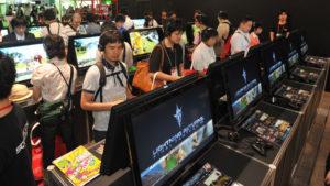 TOKYO GAME SHOW 2013 , SQUARE ENIX, at Makuhari messe in Chiba prefect. on Sept. 19, 2013. YOSHIAKI MIURA PHOTO.
