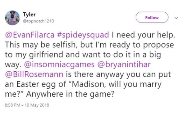 El pedido del fan