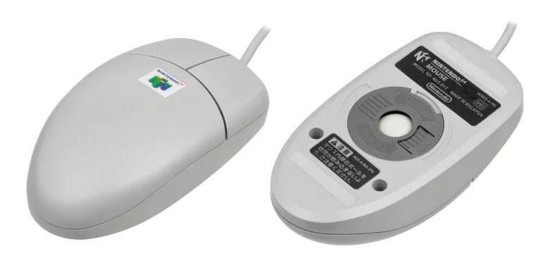 Mouse de Nintendo 64