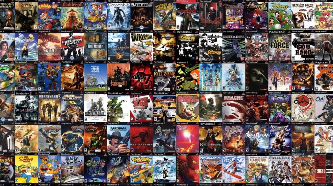 Playstation 2: una gran biblioteca de juegos
