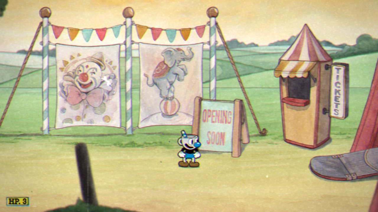 """""""Cuphead: Don't deal with the Devil"""". (MDHR Studios)"""