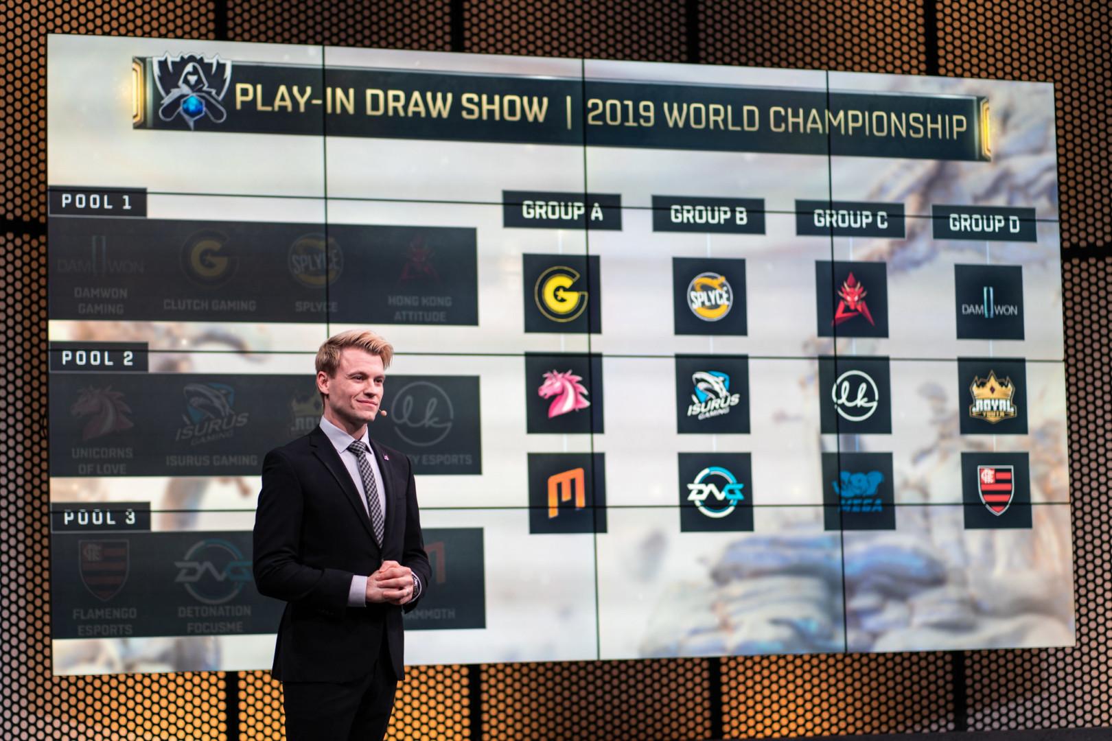 Isurus Gaming ya conoce a sus rivales: cómo quedó conformado el Play-in de Worlds 2019