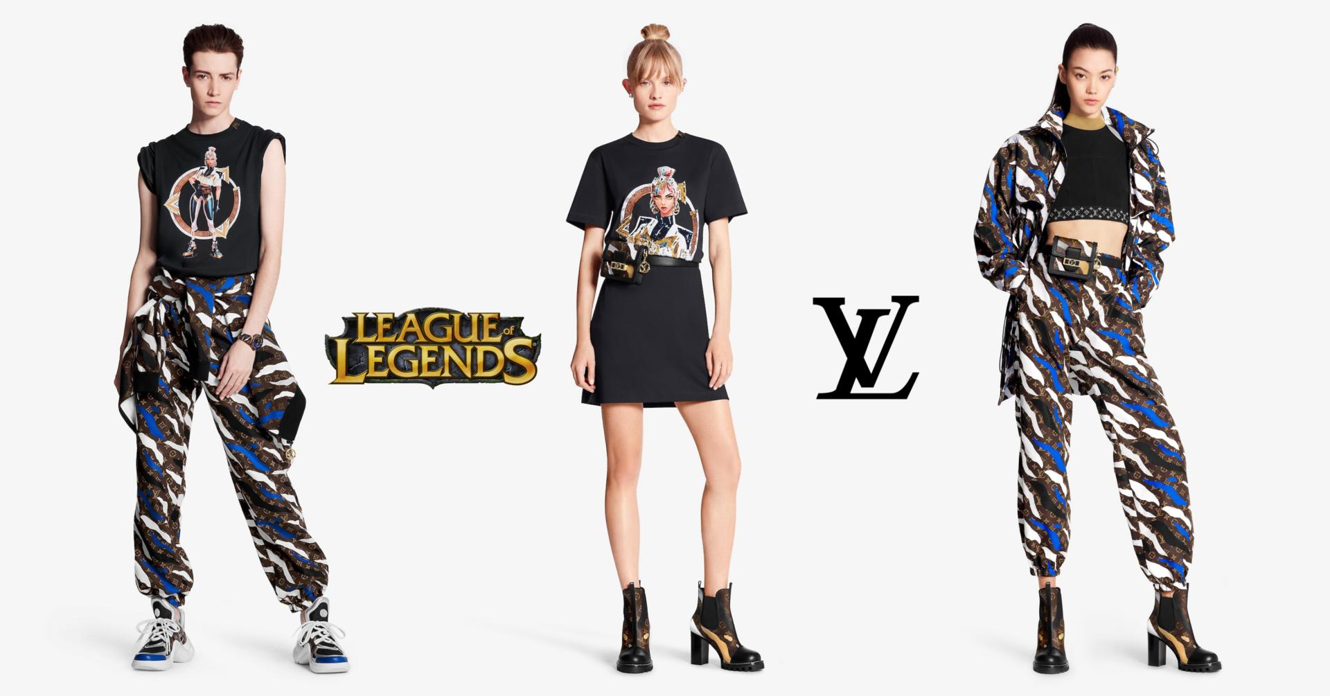 Louis Vuitton presentó su colección inspirada en League of Legends para a gamers… millonarios