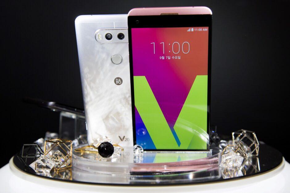 LG presentó su primer celular con Android Nougat
