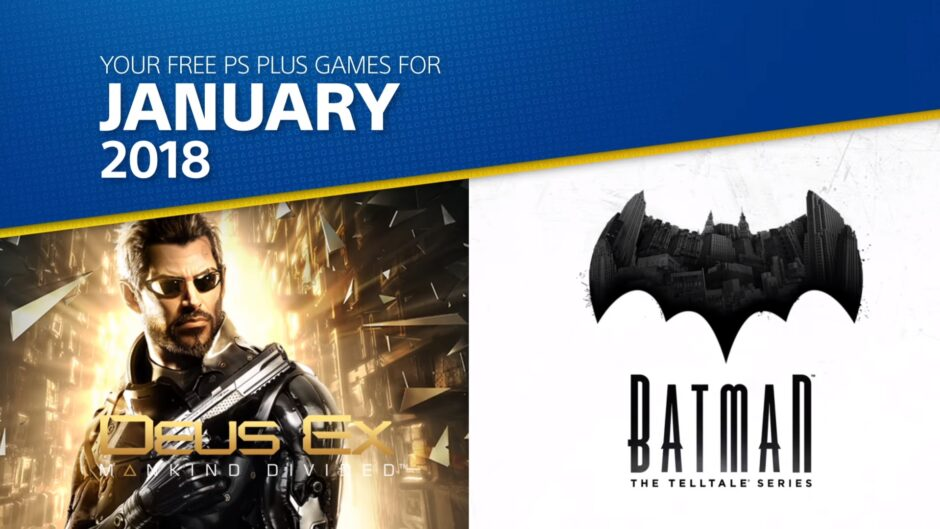 Estos son los juegos gratis de PS Plus para comenzar el 2018