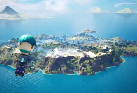 Se filtró el nuevo mapa de Fortnite Capítulo 2 y el tráiler de la historia