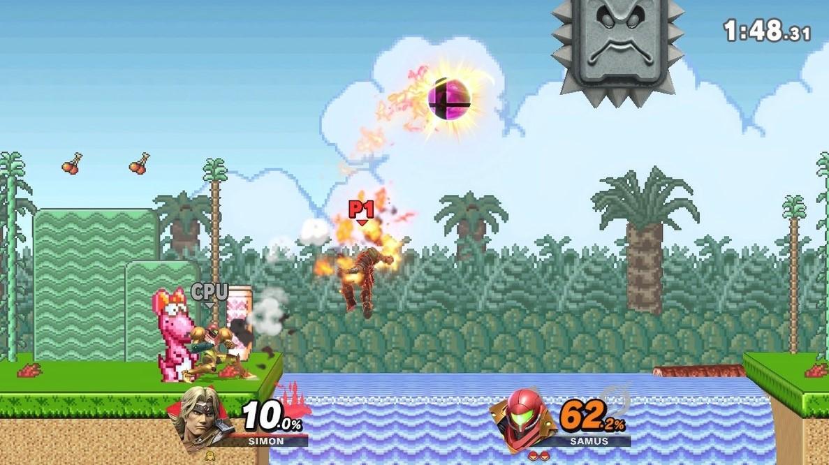 El escenario de Super Mario Bros. 2. (Nintendo)