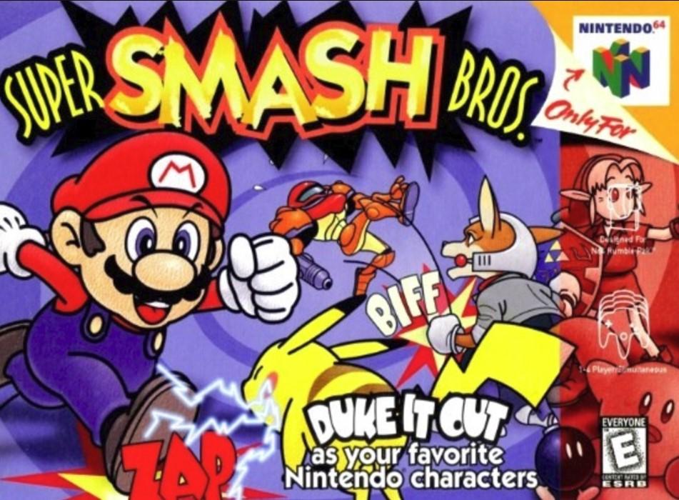 Super Smash Bros 64. (Nintendo)