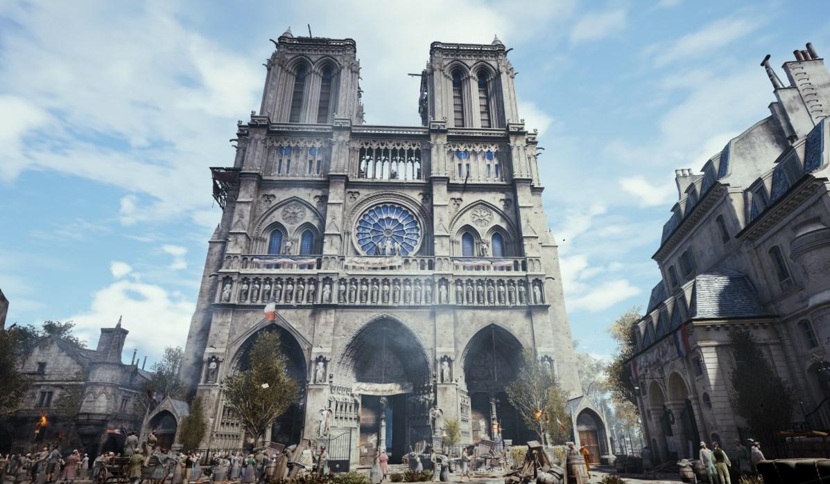Assassin's Creed Unity: la catedral de Notre Dame
