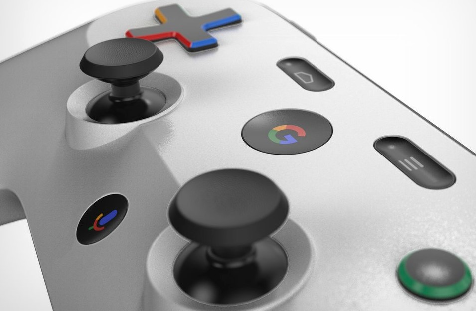 Así podría ser el joystick de la consola por streaming de Google: hicieron un boceto a partir de una patente