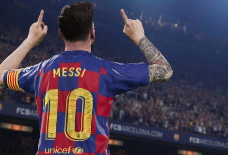 PES 2020 saldrá en septiembre: cambió de nombre, tiene a Messi y Ronaldinho en la portada, y los estadios se ven espectaculares