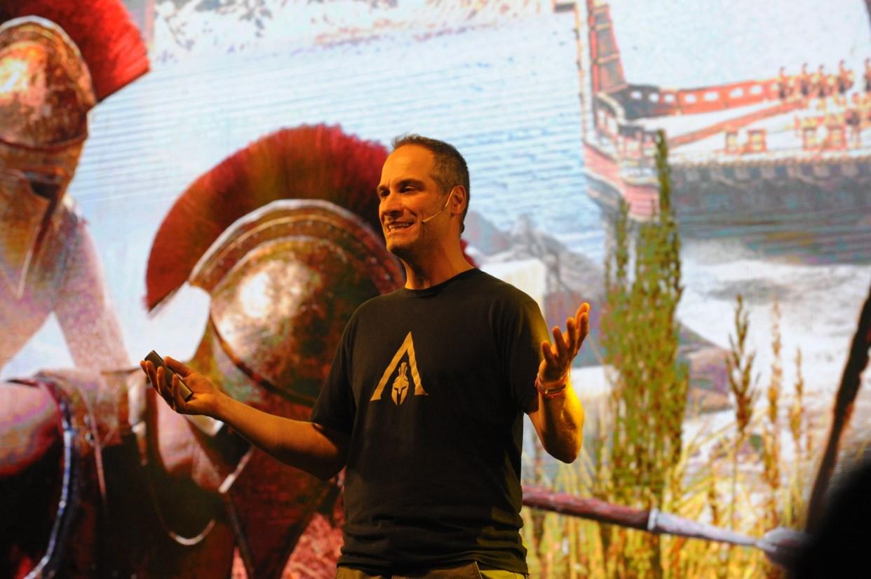 En Argentina Game Show, su charla fue muy concurrida