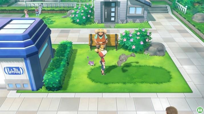 Los pokémon están a la vista para ser capturados