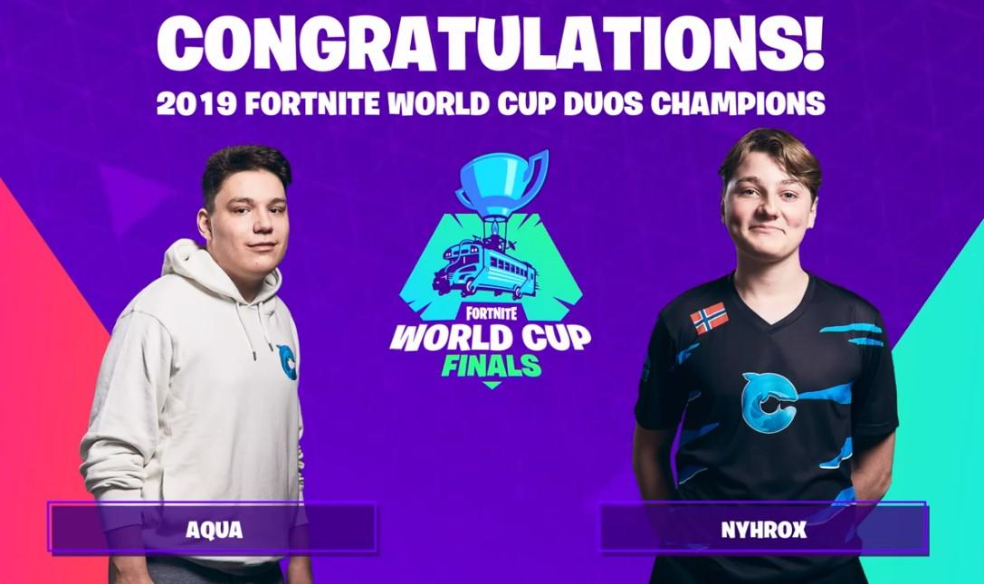 No va más: los campeones del mundo de Fortnite se separan