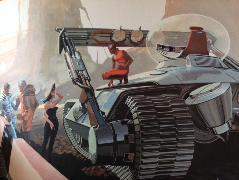 Falleció Syd Mead, uno de los artistas conceptuales más influyentes de la historia del cine y los videojuegos