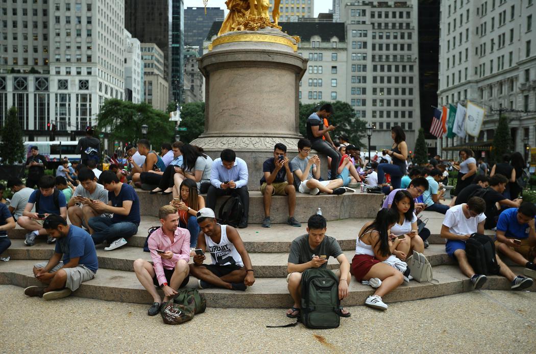 Locura y furor en Nueva York por Pokémon Go