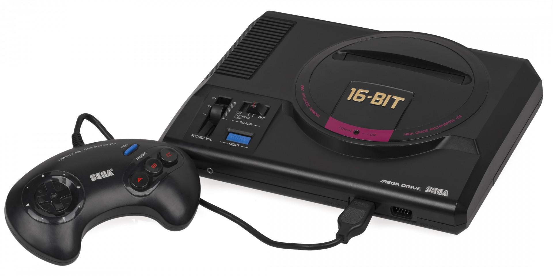 Sega anunció una nueva versión de su clásica consola Mega Drive