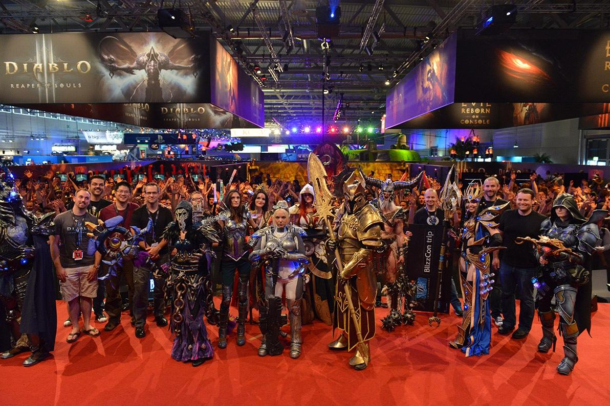 Comenzó la Gamescom, la feria de videojuegos más importante de Europa