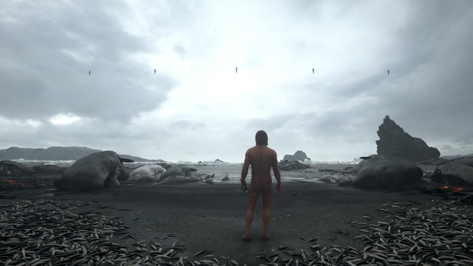 Kojima y un pequeño adelanto sobre Death Stranding