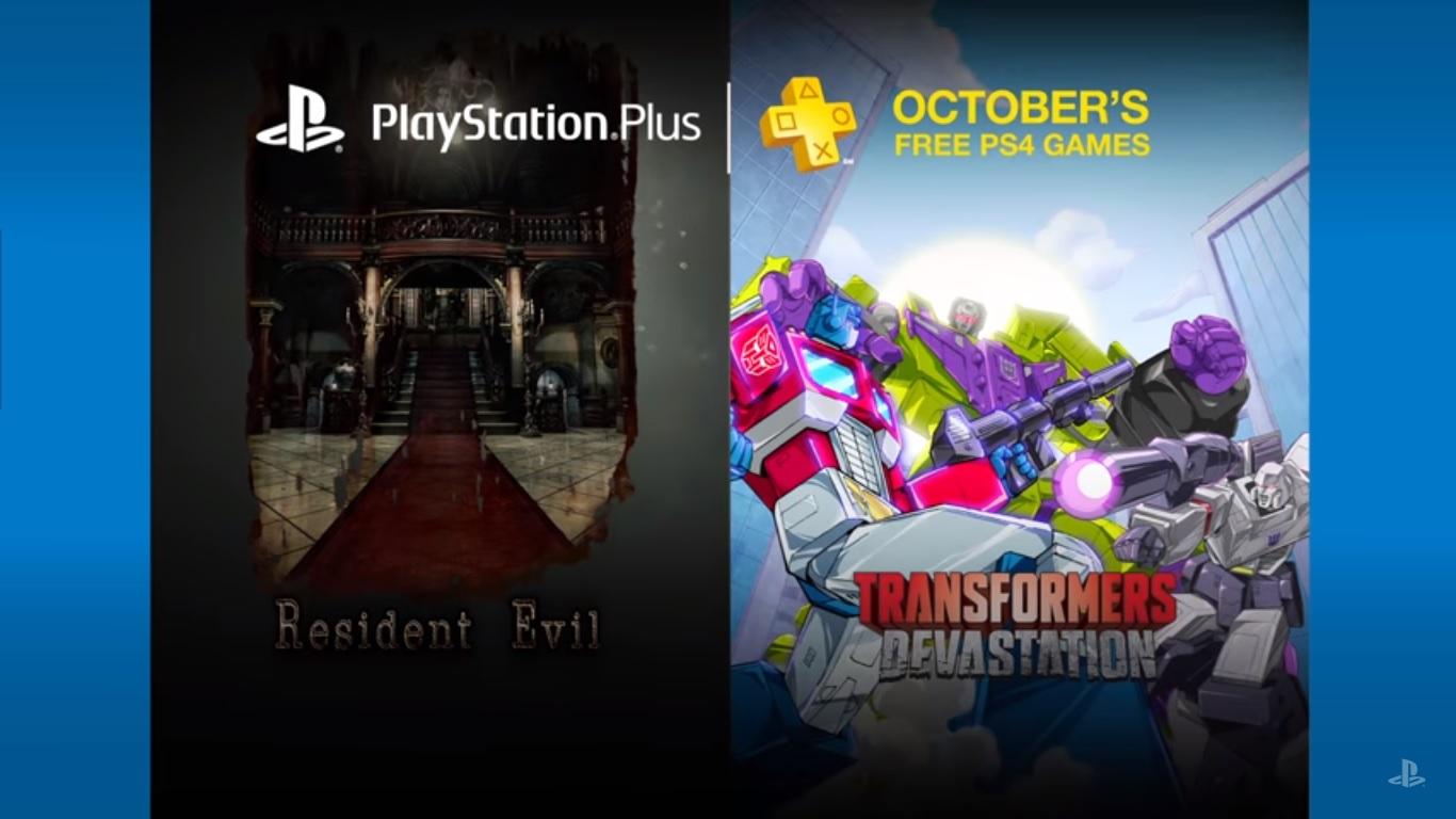 Sony confirmó los juegos de PS Plus para Octubre