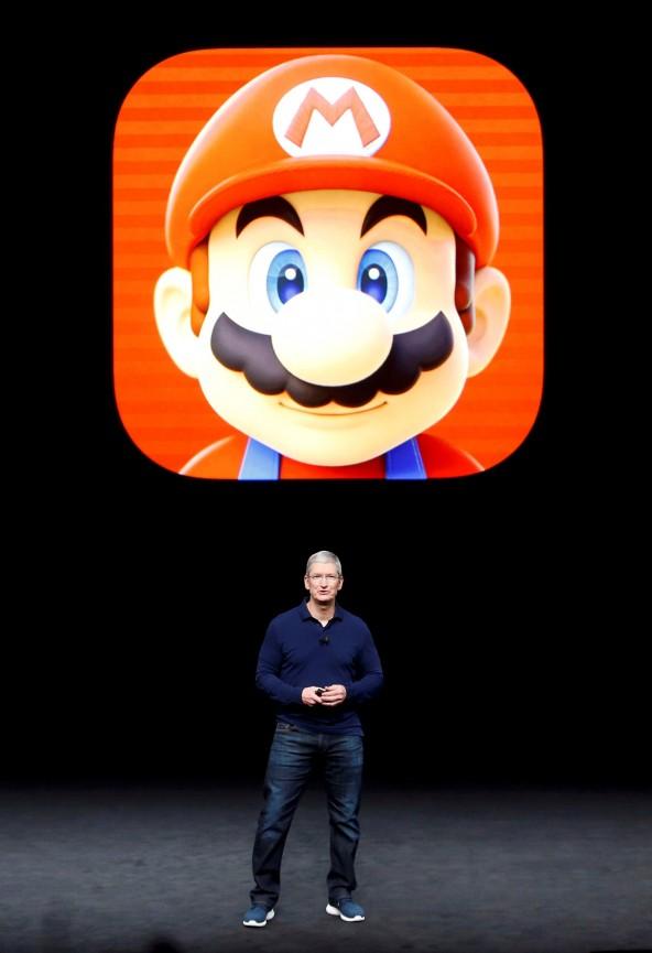 Mario Bros, el nuevo amigo de Apple