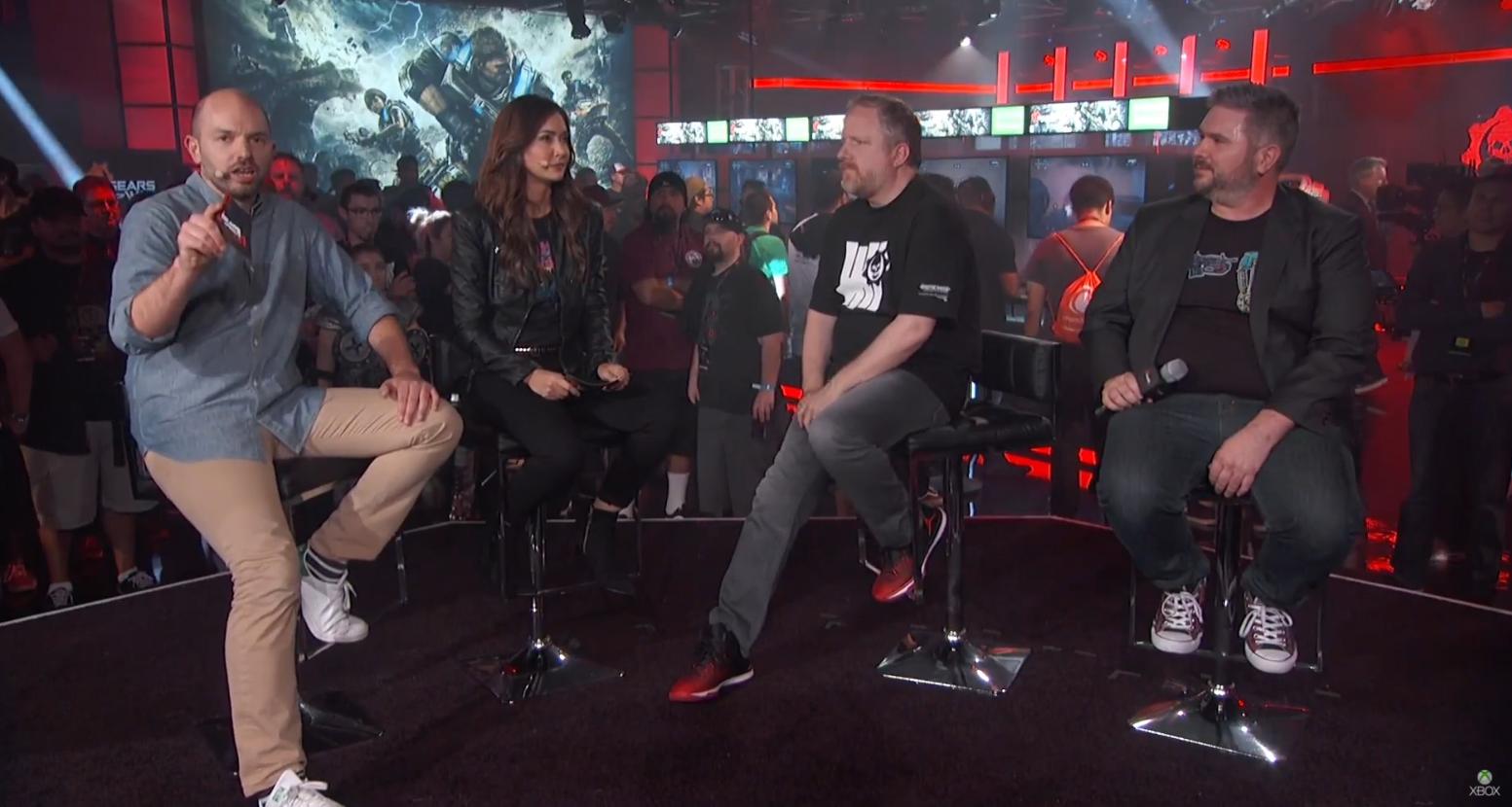 Cómo se vivió el Gears of War 4 Live en Twitter