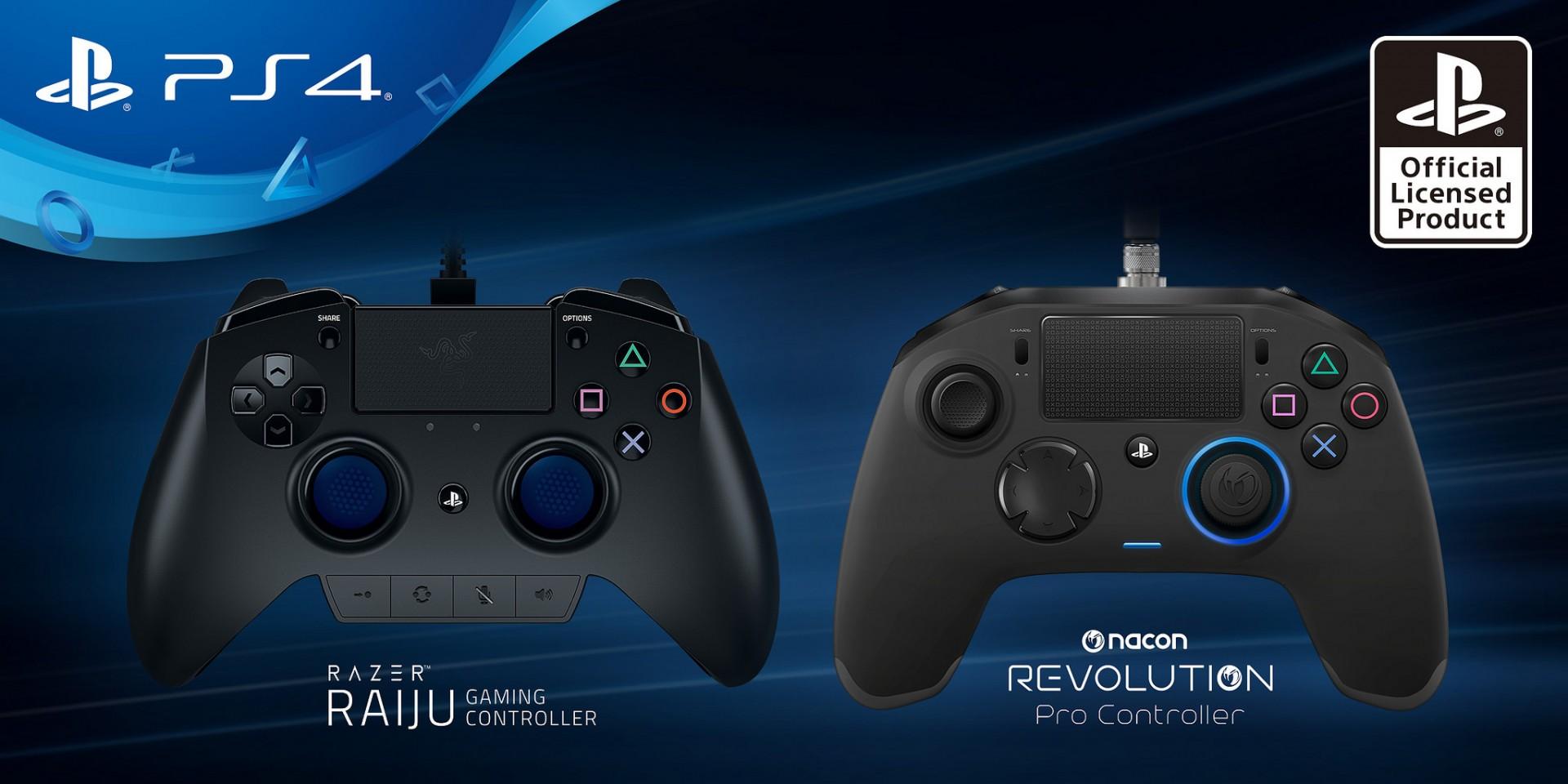 Sony presentó los nuevos controles Pro para PS4