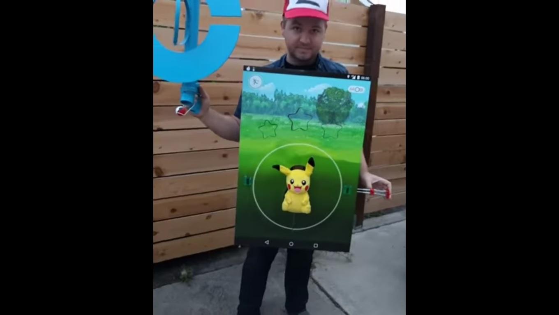 ¡Hasta en la sopa! Llegó el disfraz de Pokémon Go