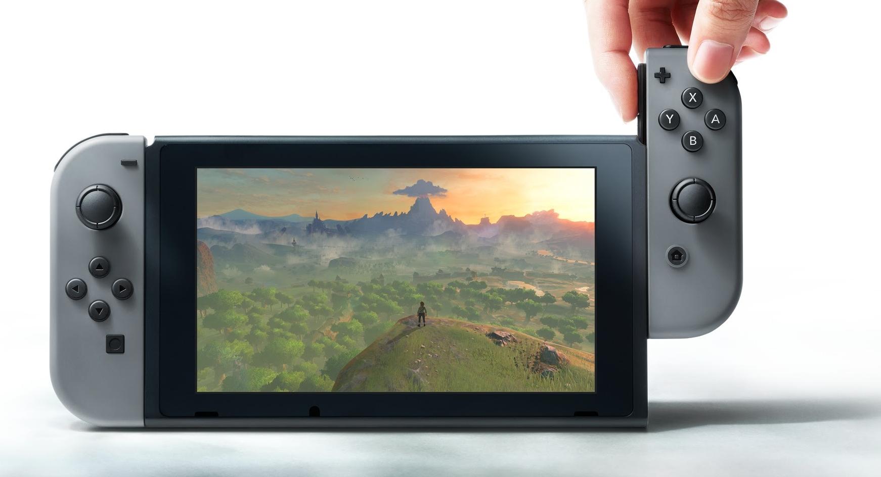 Nintendo presentó Switch: El nacimiento de las consolas híbridas