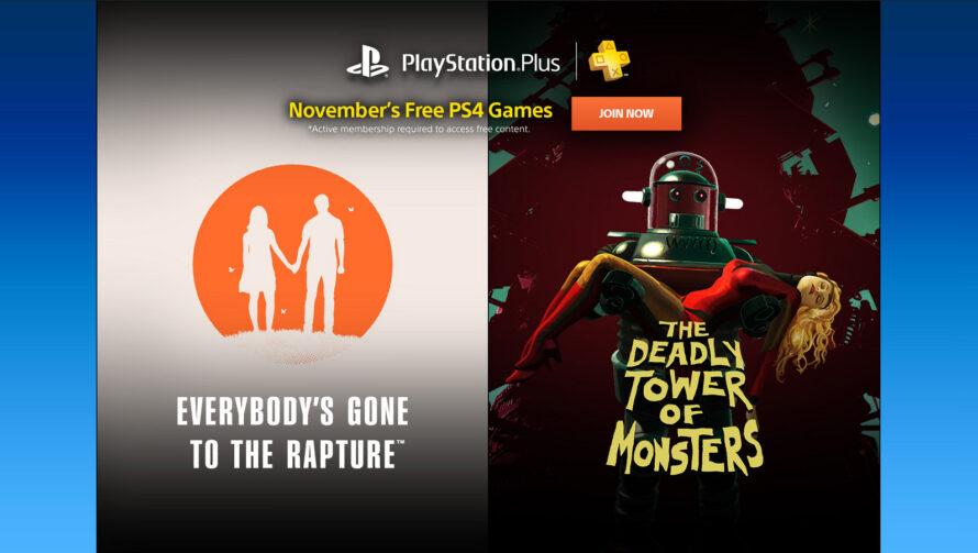Sony anunció los juegos de PS Plus para Noviembre