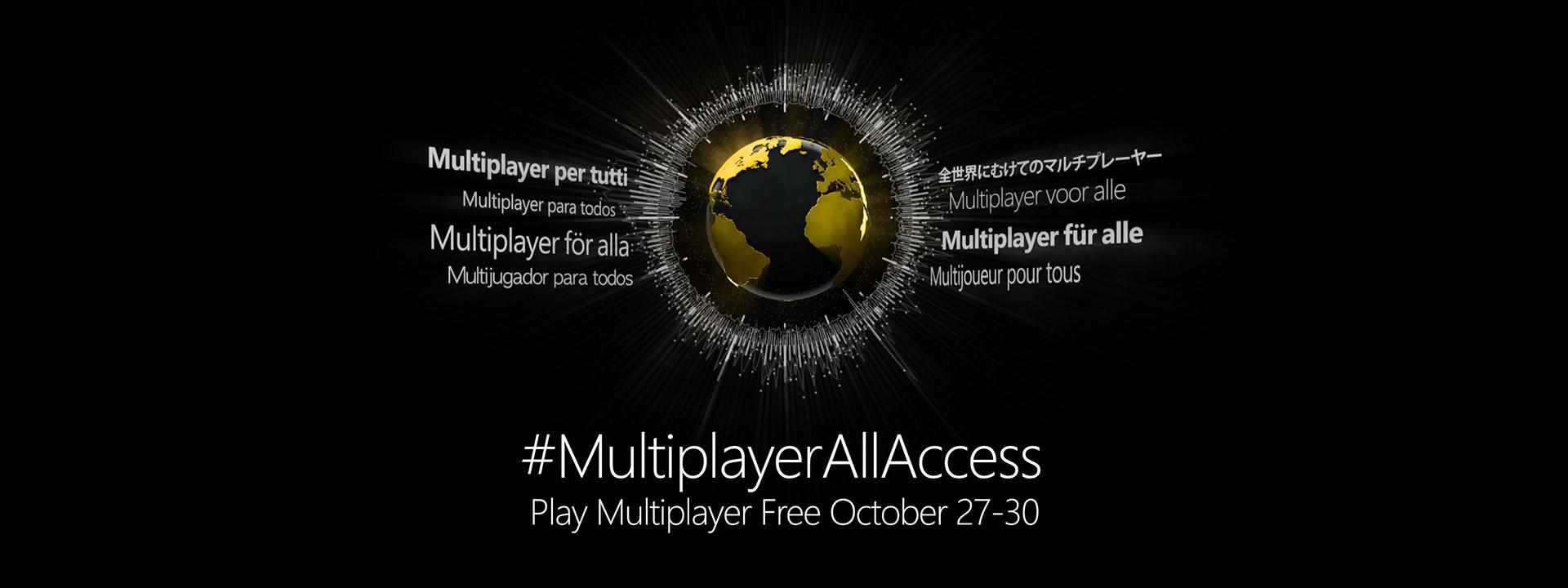 Xbox libera el Multiplayer online para todos sus jugadores