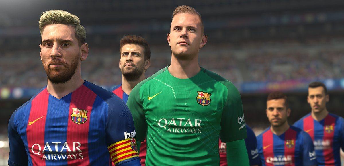Nueva actualización del PES 2017: ¡Ahora sí, Messi!