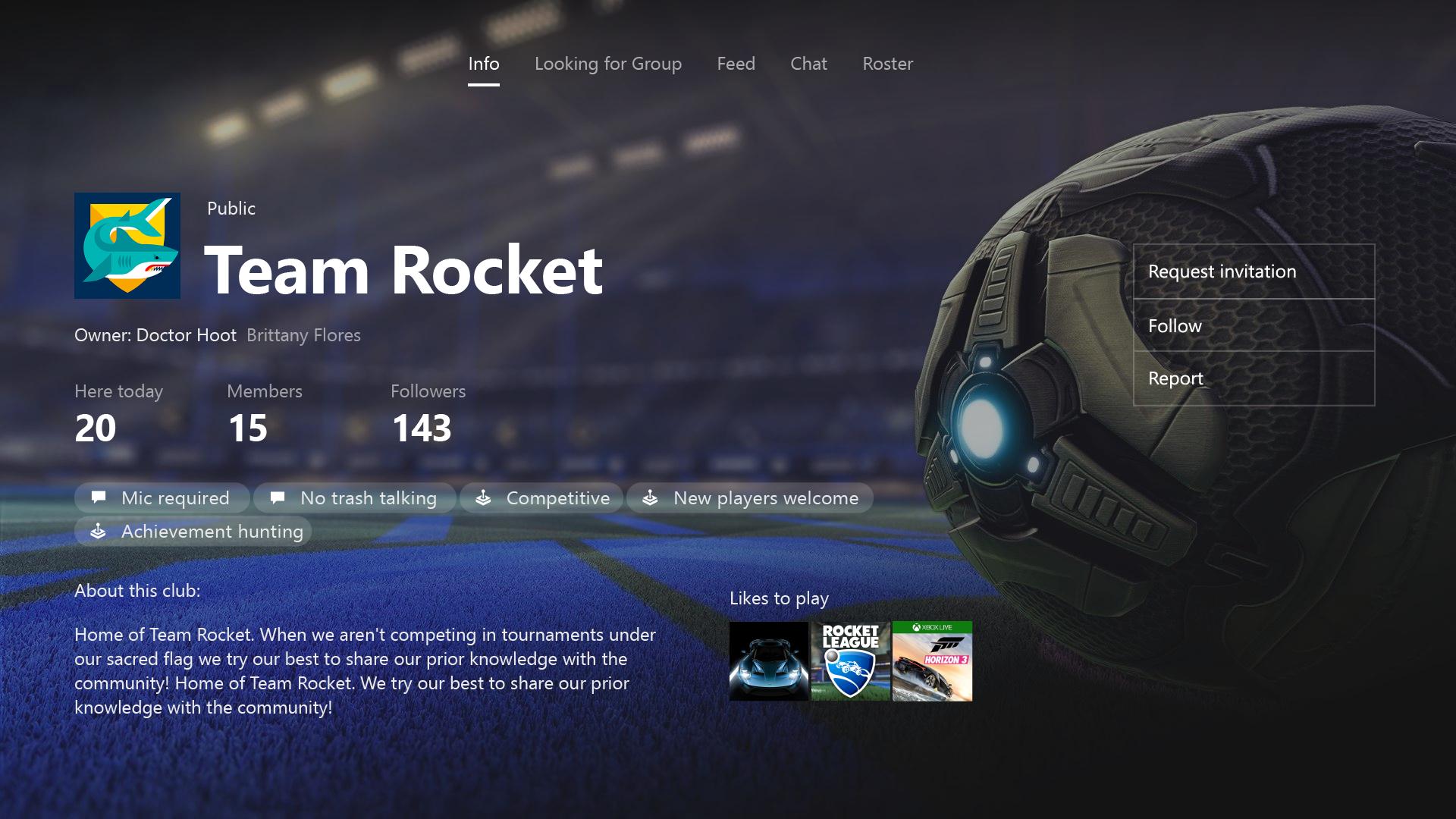 Equipos, chat grupal y emojis en la actualización de Xbox Community