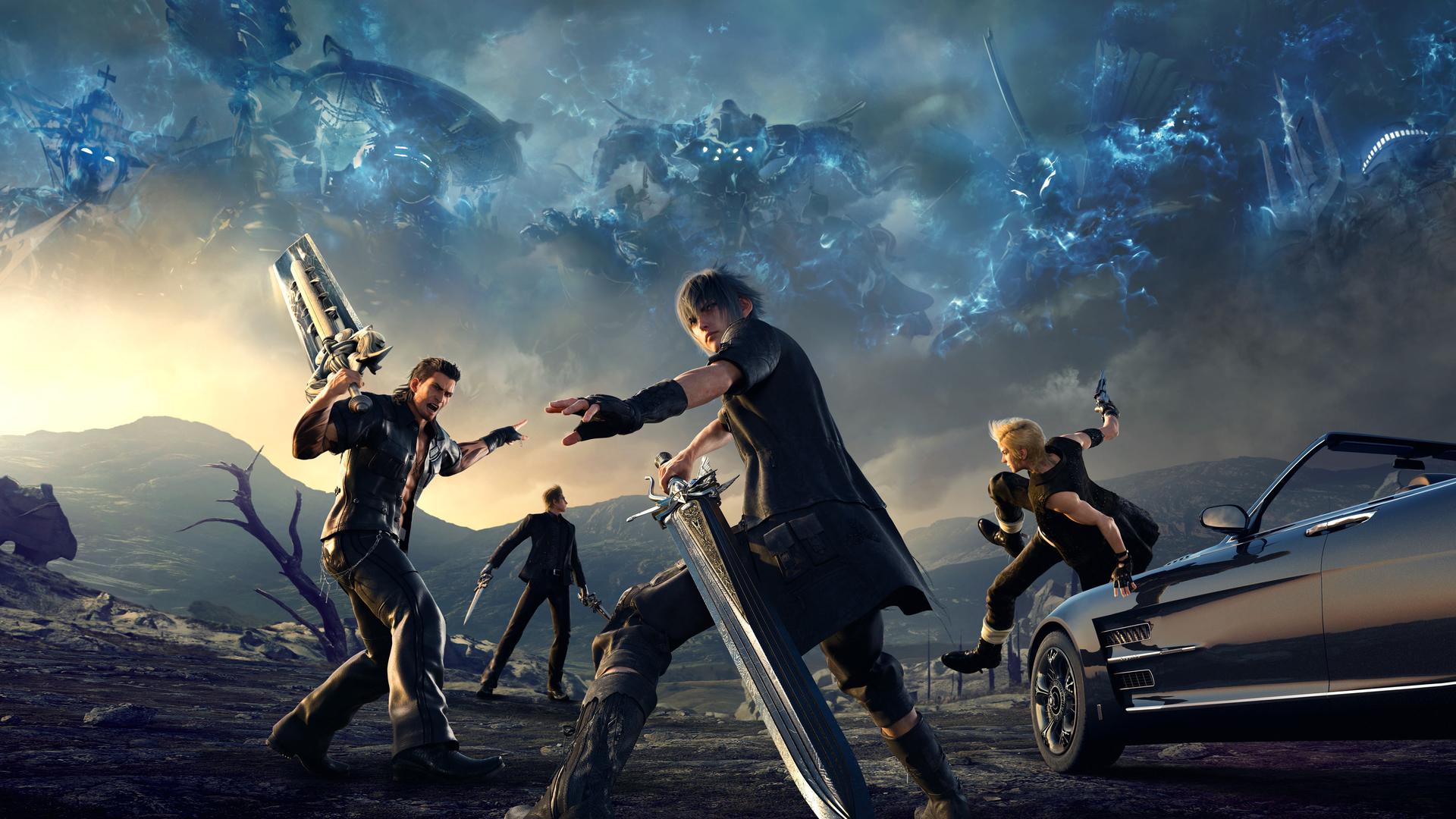 El increíble tráiler de lanzamiento del Final Fantasy XV