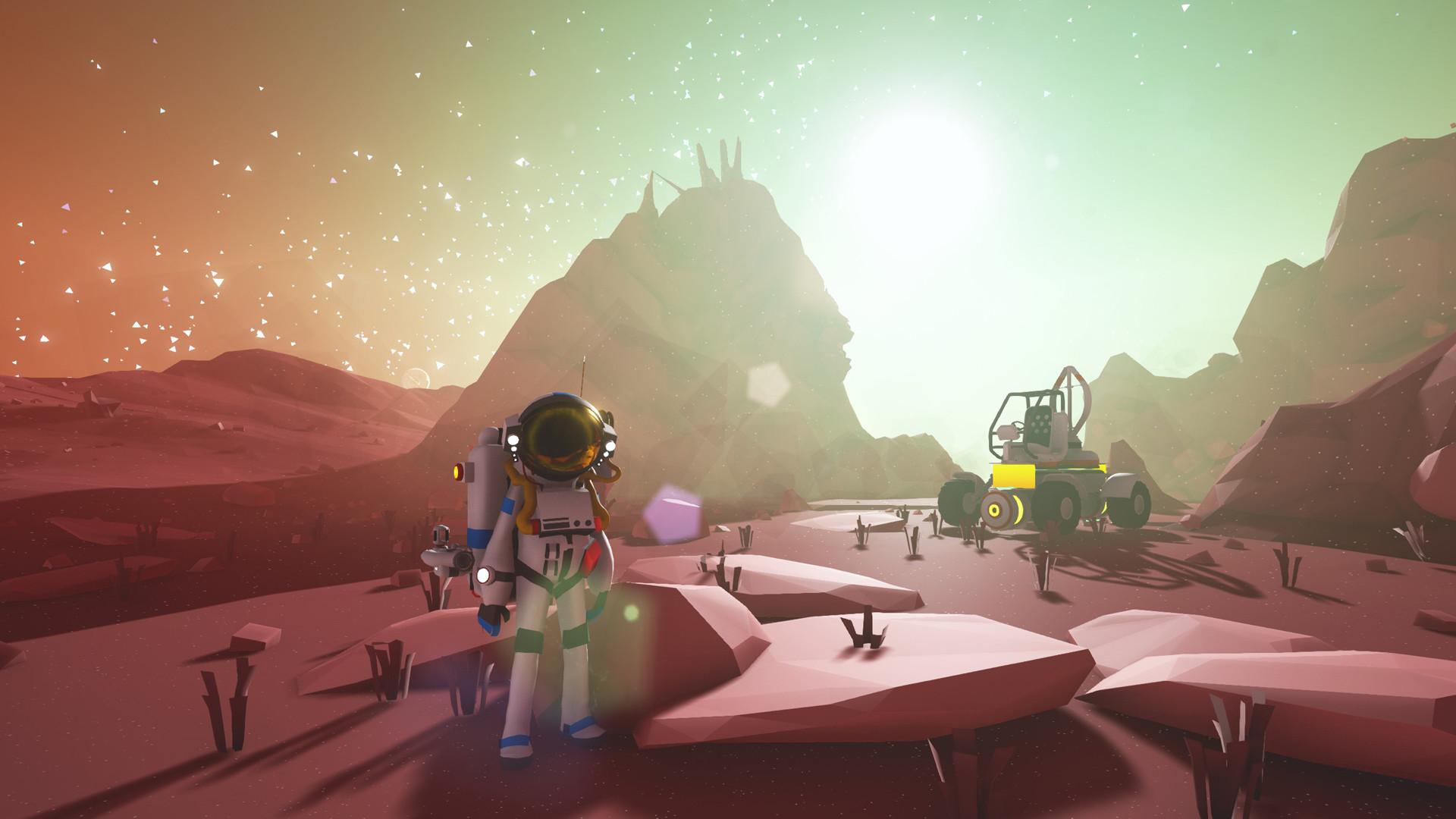 Astroneer, un juego tan hermoso como despiadado que promete