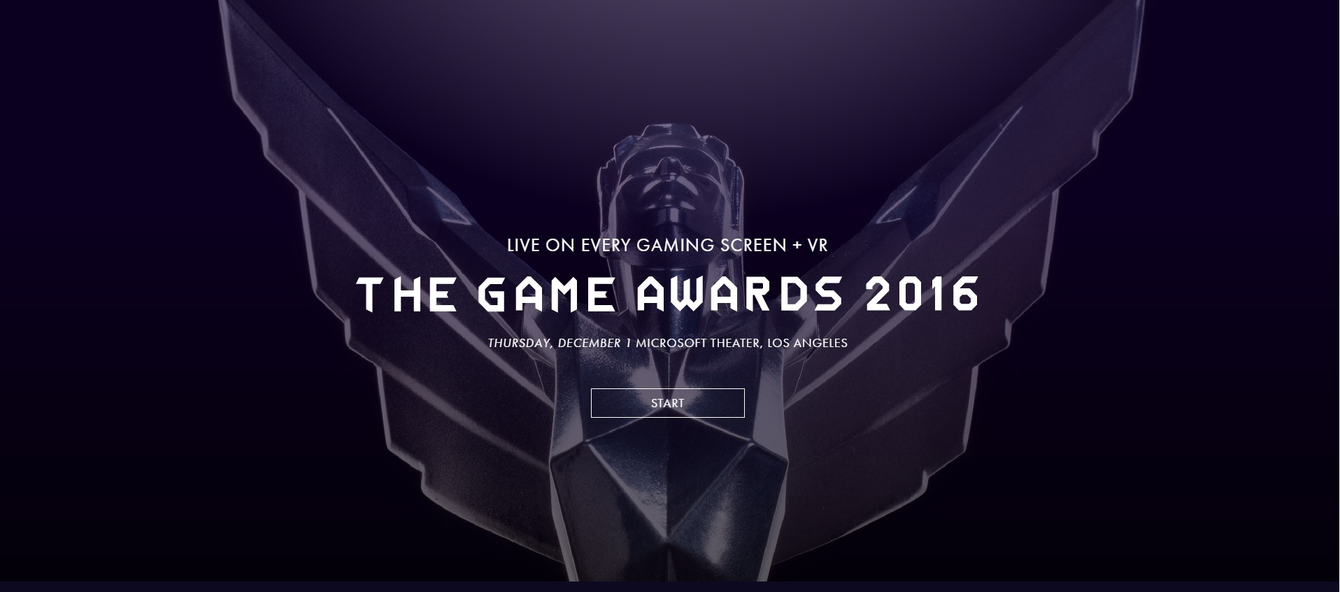 Seguí en VIVO The Game Awards 2016 [Actualización: Finalizó]