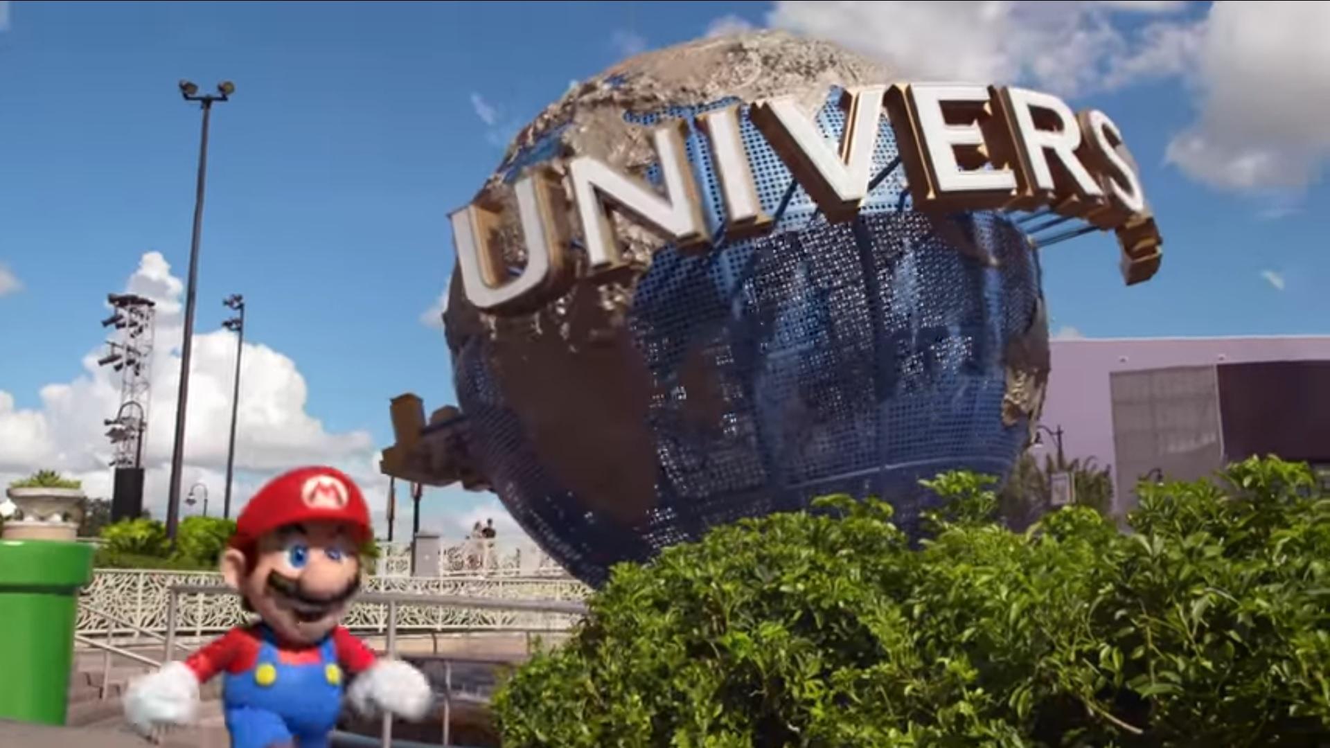 Nintendo tendrá su propio parque de diversiones junto a Universal