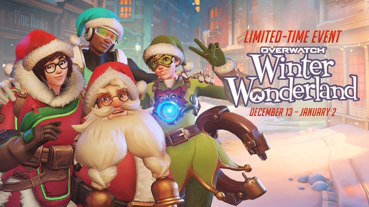 Overwatch ya está de fiesta con el evento especial de Navidad