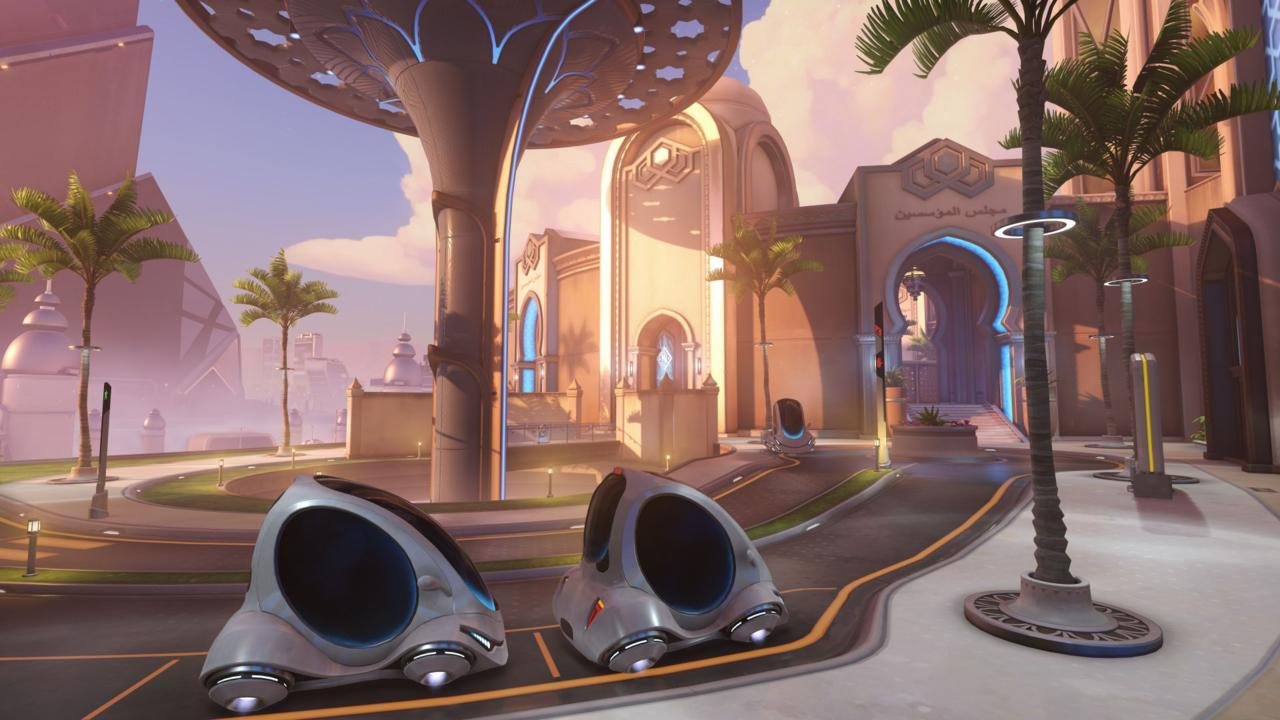 Ya está disponible Oasis, el nuevo mapa de Overwatch