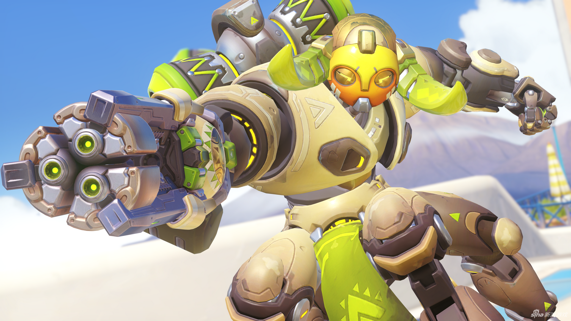 Después de su largo paso por PTR, Orisa está disponible en Overwatch