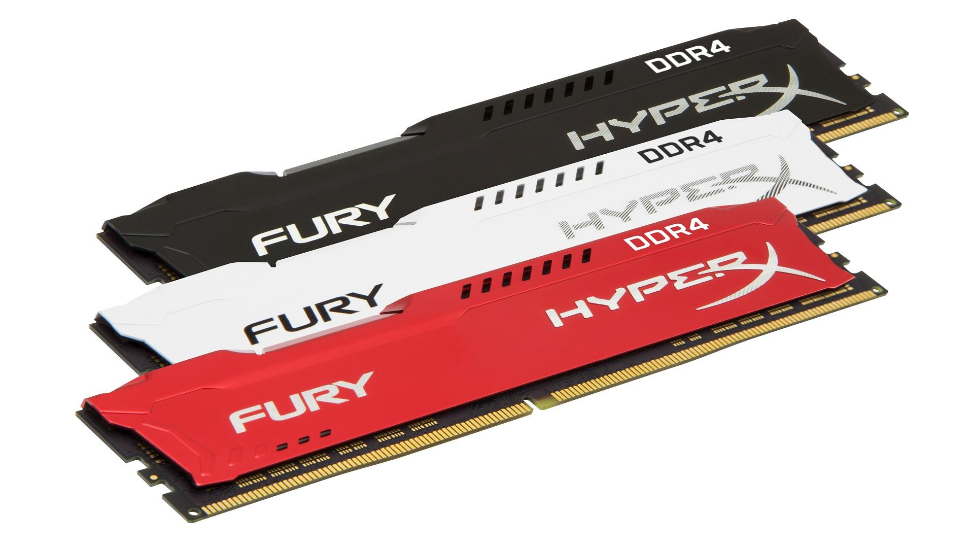HyperX expande su línea de memorias FURY DDR4