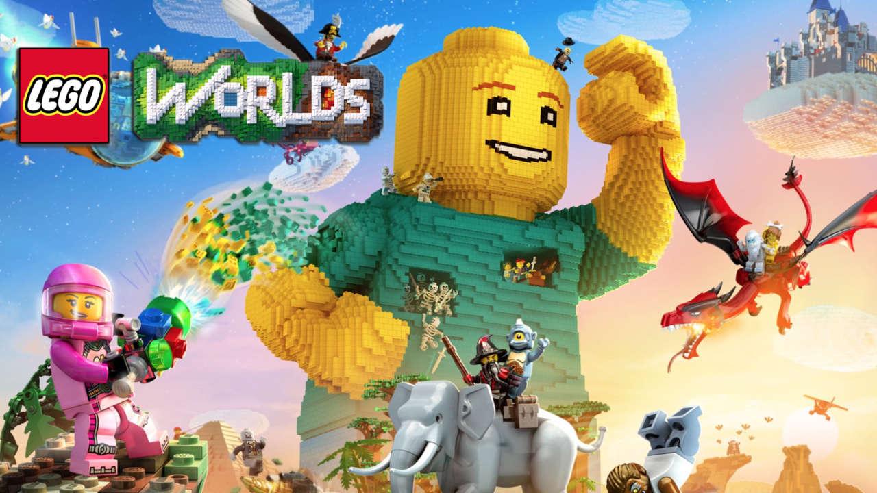 """""""Lego Worlds"""": todo está por construir y destruir"""