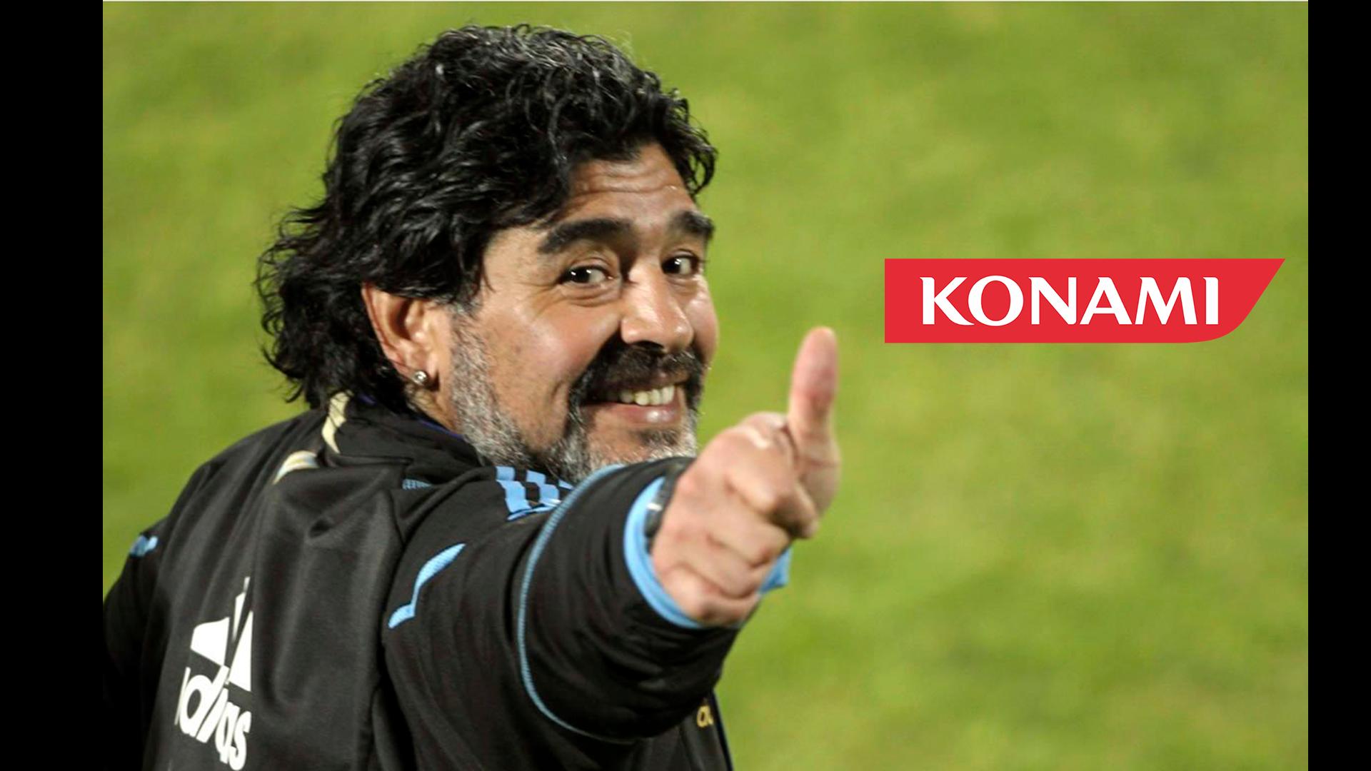 Maradona Vs Konami: Una novela con final feliz y Diego como embajador!