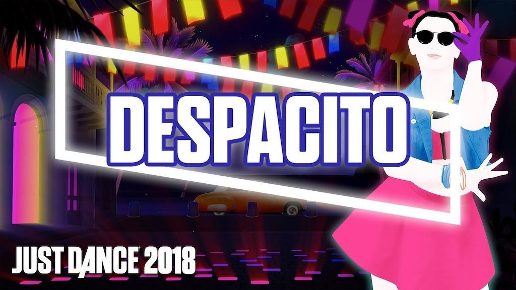 """""""Despacito"""" el hit que invadió el mundo entero estará en Just Dance 2018"""