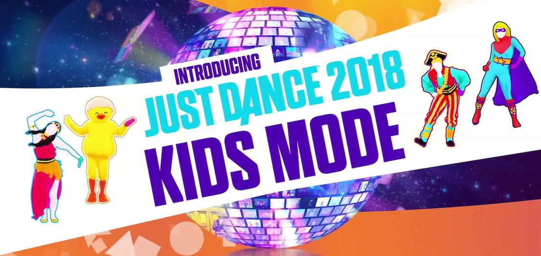Just Dance 2018 suma un modo especial para los más chicos