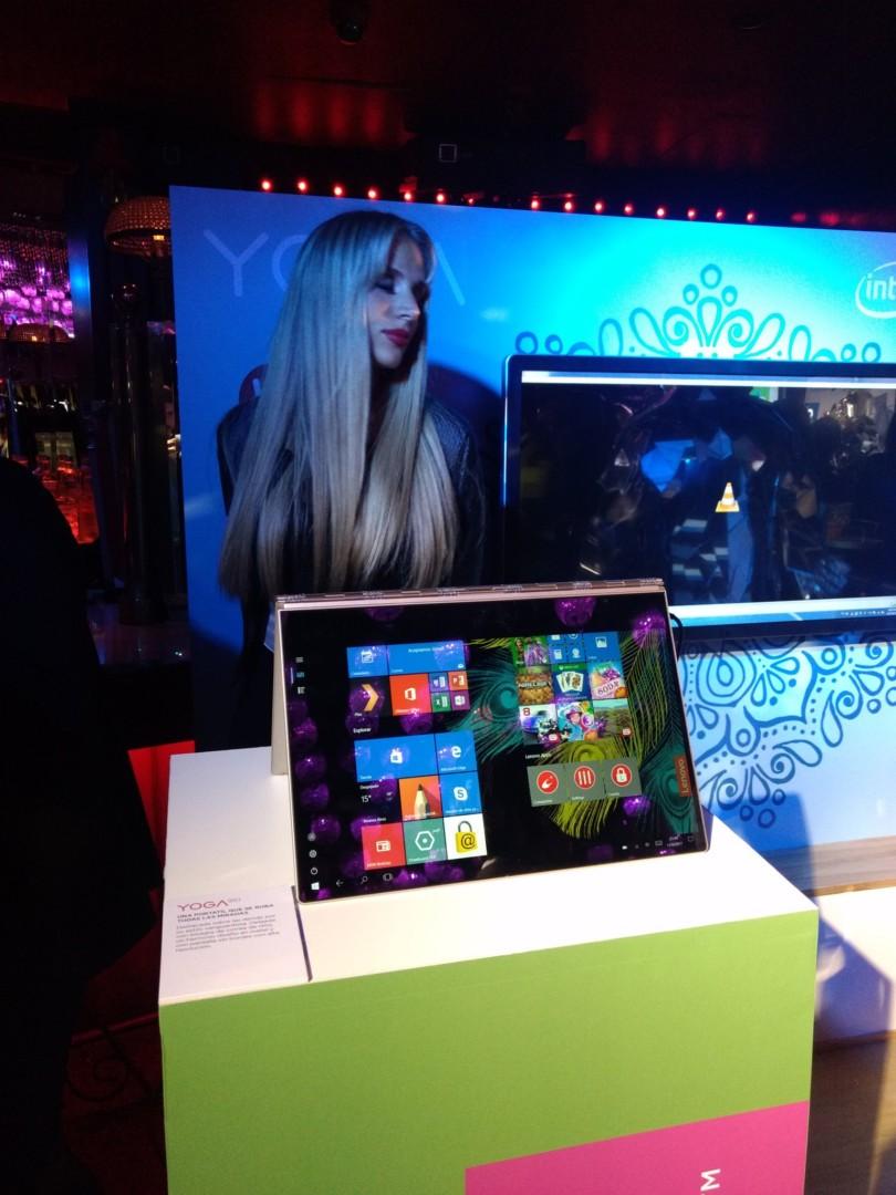 Lenovo presentó sus nuevos productos en un evento repleto de figuras