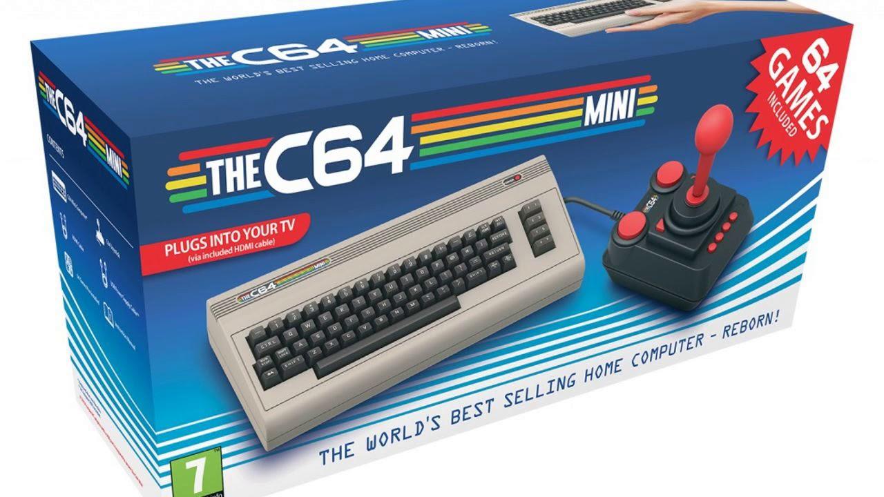 """Comodore 64: un clásico que renacerá en versión """"mini"""""""