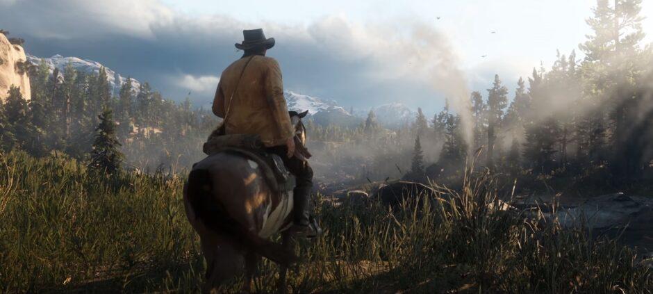Mira el nuevo trailer de Red Dead Redemption 2!