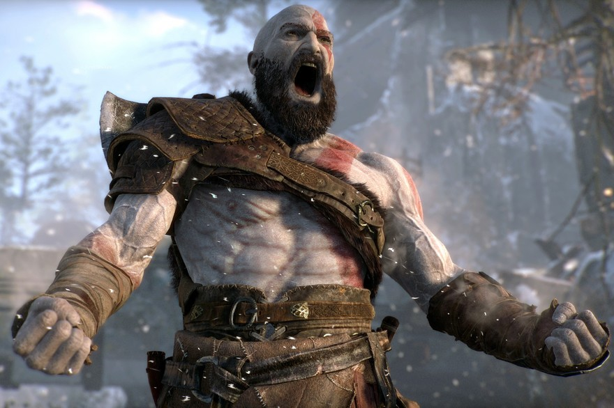 Kratos, la figura de God of War, también es modelo de fitness