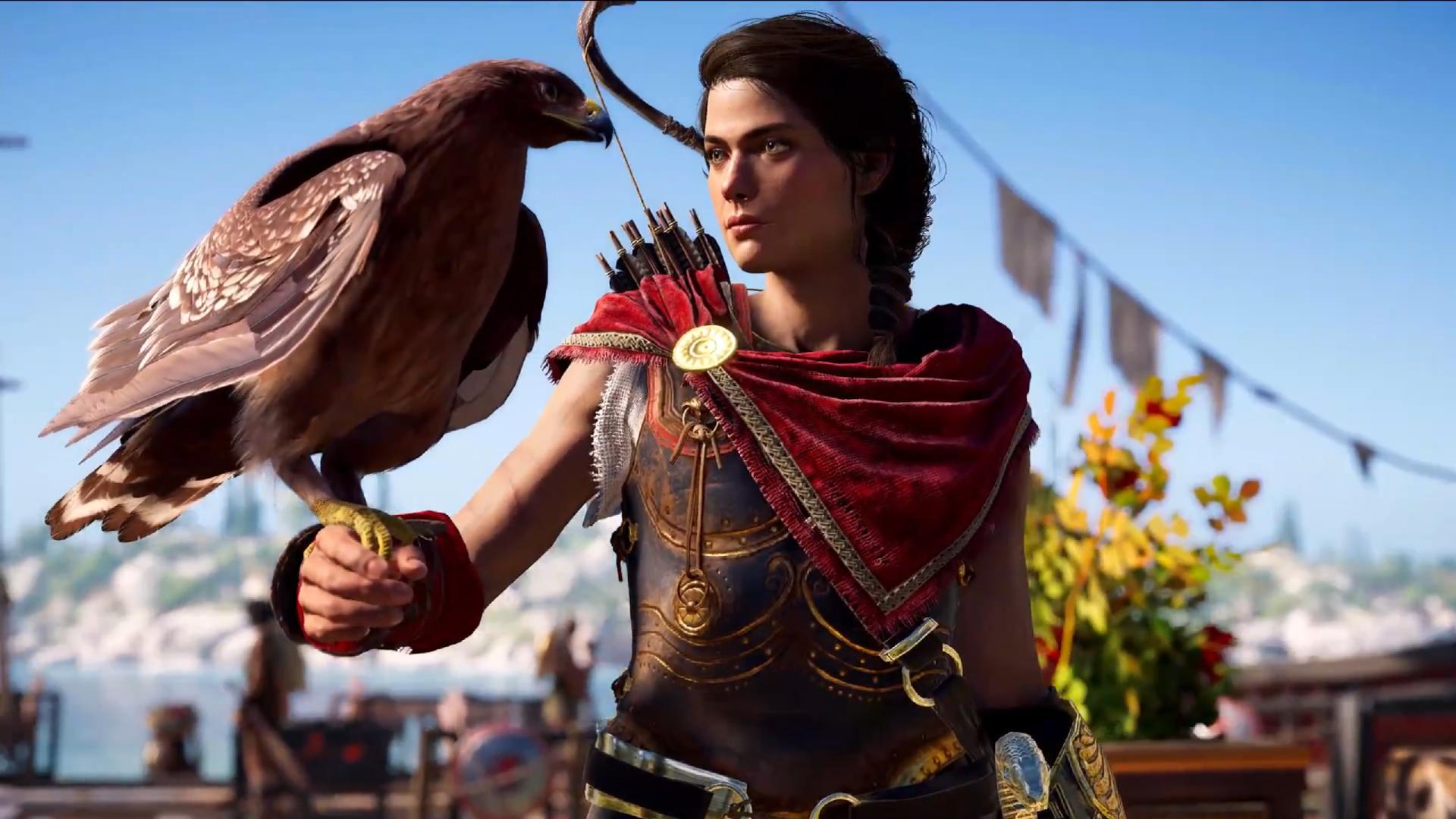 Kassandra, la heroína griega, tiene su rol confirmado en Assassin's Creed Odyssey